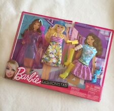 Mattel 2011 Barbie Fashionistas Life In A Dream House Rainy Day Fashion Pack New