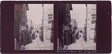 Dinan Bretagne Photo Stereo Vintage citrate ca 1900