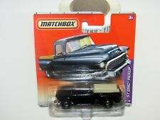 Matchbox Superfast 2010 No 38 '57 GMC Pickup Black MIB
