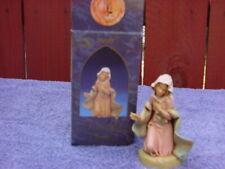Vintage Fontani Christmas Figurine-Mary