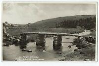 RPPC Clapper Bridge Postbridge Dartmoor UK UNUSED Harvey Barton Postcard