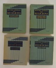 Gorce, Maxime - Raoul Mortier.Histoire Generale des Religions. 4 Bände. Komplett