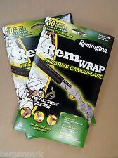 2 Pack RemWrap Firearms Camouflage RealTree APS Camo Wrap 20 Sheets Rifle