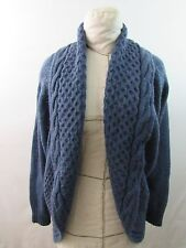 Forever 21 XXI Open Front Cardigan Acrylic Alpaca Blend Size LARGE
