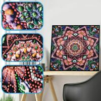 Flower DIY 5D Special Shaped Diamond Painting Embroidery Cross Stitch Craft Kits