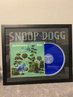 Snoop Dogg Framed Signed Autographed BUSH Vinyl Album JSA Authenticated RAP! HOT