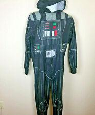 DARTH VADER Star Wars Union Suit One Piece Men's Pajamas Medium  NWOT Costume