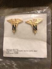 US Army  Nurse Corps Branch insignia 1983