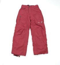 Oakley Software Womens Medium Spell Out Lined Vented Winter Snowboard Ski Pants