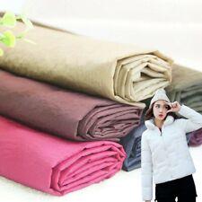 Nylon Taffeta Fabric Material Plain Soft Cloth Eco Craft for Down Jacket Costume