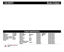 Disc Brake Caliper fits 2006-2010 Jeep Grand Cherokee  CENTRIC PARTS