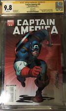 CAPTAIN AMERICA #25 CGC SS 9.8 SIGNED BY STEVE EPTING VARIANT COVER Death Of Cap