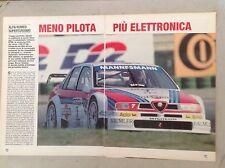 *ARTICOLO SUPERTURISMO ALFA ROMEO 155 Ti V6  --  1995