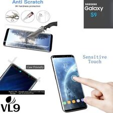 100%25 Genuine Premium Tempered Glass Screen Protector Film for Samsung Galaxy S9