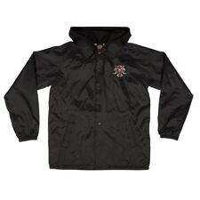 Independent x Thrasher Pentagram Cross Hooded Windbreaker Jacket Black Small