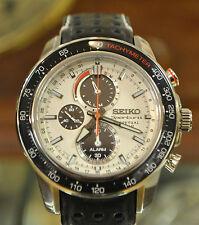 Seiko Luxury 100 m (10 ATM) Wristwatches with Chronograph
