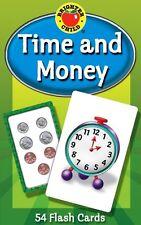 Time and Money Flash Cards Home School for Teachers Parents Kids Preschool-Gr 5