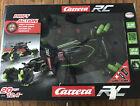 Carrera Drift Car Black/Neon Green R/C Remote Control Vehicle New  Box Damage