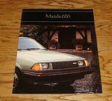 Original 1981 Mazda 626 Sales Brochure 81