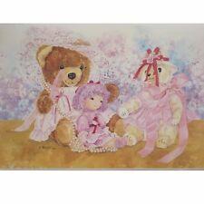 34 CM ANCHO CENEFA PAPEL PINTADO AS 8428-17 Fine tosoff teddy osos 5m Ribete