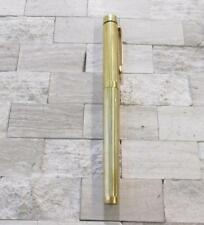 Vintage Sheaffer Gold Electroplated Fountain Pen 14KT Gold Tip; USA 4-H7106