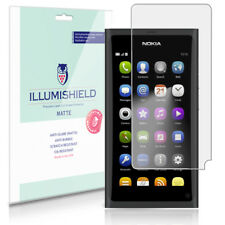 iLLumiShield Matte Screen Protector w Anti-Glare/Print 3x for Nokia N9