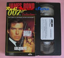 film VHS cartonata GOLDENEYE  JAMES BOND OO7 COLLECTION 1995  (F12*) no dvd