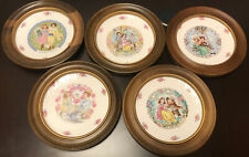"Royal Doulton ""Valentine's Day� Set of 5 Collector's Plates - 1976,77,78,79,80"