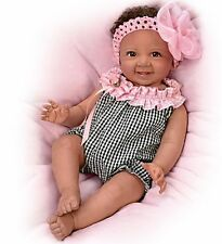 BEAUTIFUL Biracial Baby Girl! 18 Inch Life Like Collectors Doll