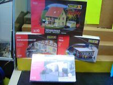 Faller HO 131277 , 130130 ,180450 ,180347 4 Gebäudebausätze im Set