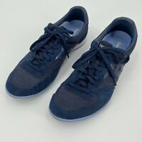 Saucony Mens Bullet Navy Blue Sz 11.5 Lace Up Running Shoes Retro