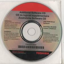 TOSHIBA PMR400404EU0 - ADDITIONAL SOFTWARE CD - WINDVD CREATOR 2 PL. DRIVE OTHER