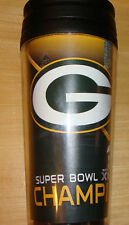 Green Bay Packers Super Bowl Champs Coffee Tumbler NFL