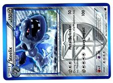 POKEMON BW9 BLACK & WHITE PLASMA FREEZE RARE N°  79/116 STEELIX 150 HP Attack100