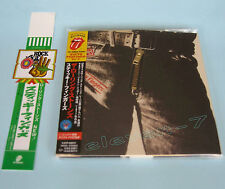 ROLLING STONES Sticky Fingers Japan mini LP CD + PROMO OBI brand new & ss