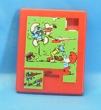 Schlumpf Mini - Schiebe - Puzzle Riddle MOTIV : Papa + Versuchsschlumpf 7,5x9cm