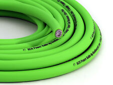 KnuKonceptz KCA NEON Kandy GREEN Ultra Flex 4 Gauge Power / Ground Wire
