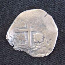 1600s 1 REAL SILVER COB COIN FROM THE CONSOLACION SHIPWRECK POTOSI MINT TREASURE