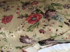 M.T.M vintage curtains, linen, beautiful colours, excellent condition
