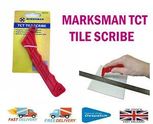 MARKSMAN TCT TILE SCRIBE CERAMIC TUNGSTEN CUTTING CARBIDE TIP FLOOR MARKER
