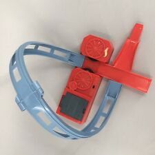 Hot Wheels Track Builder Power Booster with Loop & Jump Tested Works