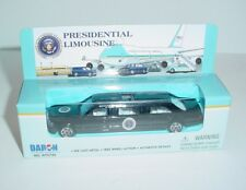 Black Presidential Limousine 1/64 Diecast Metal Toy Vehicle Daron Limo