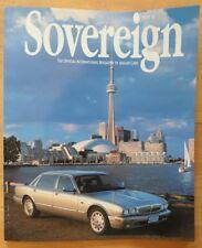 JAGUAR SOVEREIGN orig 1998 International Magazine Brochure - Edition 22
