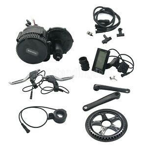 BAFANG BBS02 48V 750W Mid Drive Motor Electric Bike Conversion Kit +C965 LCD