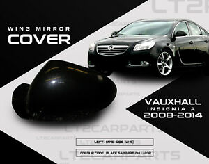 Vauxhall Insignia A Wing Mirror Cover Black Sapphire 2HU 20R LHS