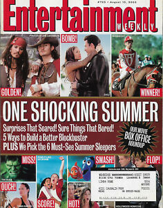 Entertainment Weekly August 15 2003 Summer Box Office Winners & Losers