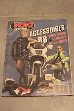 MOTO JOURNAL HORS SERIE ACCESSOIRES 1988 88  MOTO PILOTE