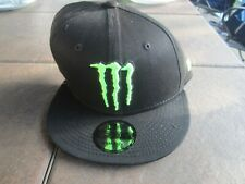 Monster Energy Era 9Fifty Athlete Snapback Hat Cap Black Racing  **NEW**