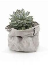 Paper Bag Pot Kraft Plant Succulents Washable Flower Home Storage Succulent Pots