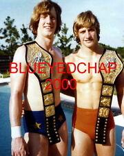 DAVID & KEVIN VON ERICH  WRESTLER  8 X 10 WRESTLING PHOTO WCCW NWA WWF
